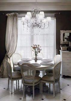 Chandelier suspendu – luminaire – chandelier – decoration – Promelec Chandelier, Decoration, Dining Room, Curtains, Interior Design, Home Decor, Casablanca Morocco, Light Fixture, Decor