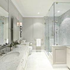 The 5 Design Secrets It Took to Make This Dark, Drab Bathroom Feel Like a Spa:  Master Bathroom - Shower View -After.jpg