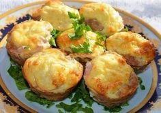 Мясные кексы с сырно - яичной начинкой Готовится просто и быстро! Ингредиенты на 7 шт: фарш любой 350 г лук 1 шт соль,... Шедевры кулинарии - My World@Mail.Ru