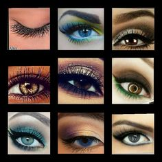 great eye looks for Youniques' Mineral Pigment Eye Shadows