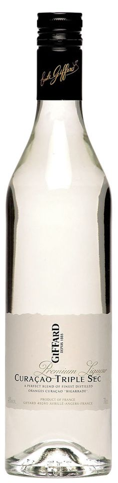 GIFFARD Premium Liqueur - Curaçao Triple Sec  70 cl - 40%