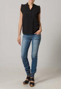 Desigual - MARIONA - Slim fit jeans - Blauw