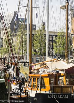Rotterdam Veerhaven :: Introducing Rotterdam, The Netherlands :: Part of The 'Beyond The Brochure' Series on The Travel Tester :: Follow via #brortm