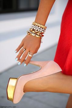 Colorful Layering Bracelets Trend