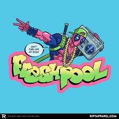''Fresh Pool'' by DiegoPedauye available today only, Wed 04/13/16, at RIPT Apparel