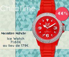 Parce que l'été, c'est la saison des fruits rouges, faites-leur honneur avec cette superbe montre Ice Watch à votre poignet ! 71.60.€ au lieu de 179€.  Voir la montre Ice Watch rouge en boutique: https://www.chic-time.fr/montre-mixte/13615-montre-ice-watch-strsss10-4897028003344.html