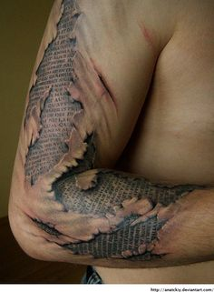 Now THAT's a crazy tattoo…