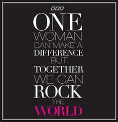 For all those who support me and lift me up…Let's Rock this World!!!!