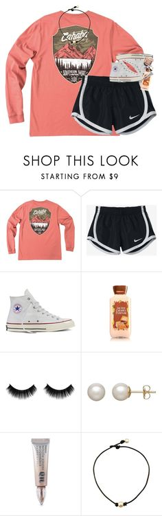 netflix & hot cocoa by classynsouthern on Polyvore featuring Converse, Honora, Urban Decay and NIKE