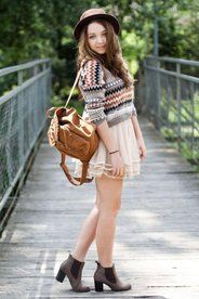 Simple flowy outfit