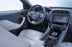 New Jaguar F-Pace revealed - pictures | Jaguar F-Pace - interior | Auto Express