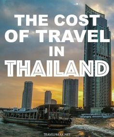 Travel is Thailand can be extremely affordable. If you budget properly, you can do it easily on just $30 a day. Here's how --> http://www.travelfreak.net/cost-of-travel-in-thailand/