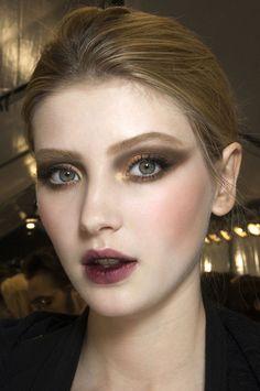 lips! my make up inspiration for fall 2013  Trendy 2013 - rozmyta pomadka - Uroda - ELLE.pl - luksusowy serwis dla kobiet