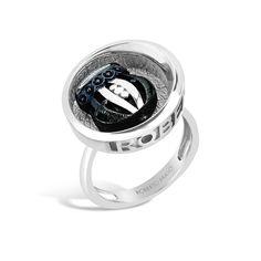 Barbados - Deep-Set Silver Rounded Crest Ring #topazusa #robertobravo #inspiring #jewelry #silver #rings #womens