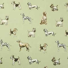 Vintage Shabby Chic Sage Green Dogs Oilcloth Wipeclean PVC Vinyl Tablecloth  | eBay