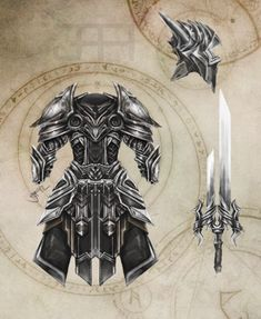 Medieval Heavy Ornamental Armor Concept by ~Equipixel on deviantART