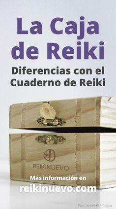Caja y Cuaderno de Reiki, Diferencias + info: https://www.reikinuevo.com/caja-cuaderno-reiki-diferencias/