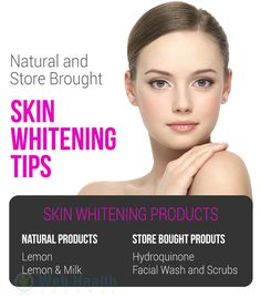 Natural and store bought Skin whitening Tips : #skin_care
