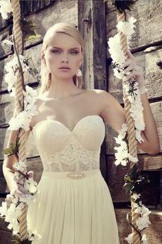 Magníficos vestidos de novia   Colección Riki Dalal