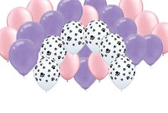 Girl Pups Paw Patrol Party Balloons for Skye and Everest Party