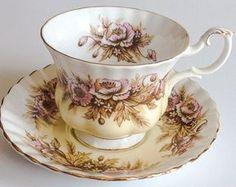 Royal Albert Melody Series Sonata Tea Cup and by JoyJoeTreasures.