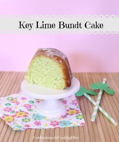 Yes, please! This Key Lime Bundt Cake from ConfessionsofaCookingDiva.com. is the perfect  spring dessert!