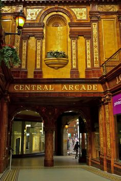 Central Arcade, Newcastle UK, built in 1906