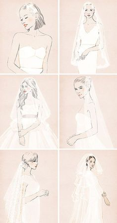 Diferentes estilos de velos de novia | El Blog de una Novia | #novias #boda Formal Dresses For Weddings, Wedding Dresses, 2017 Image, Bride Veil, Wedding Veils, Bridal Beauty, Bridal Headpieces, Wedding Hairstyles, Ideias Fashion