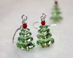 swarovski christmas earrings - Google Search