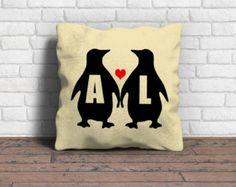 Almohada personalizada cojín pájaros de amor fundas fundas