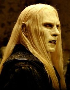 Prince Nuada. I've never even seen any of the Hellboy movies, and I know just about nothing about them, but about a million fanvids for my favorite songs later, and I fell in love with him :). He's hot...in a creepy sort of way.