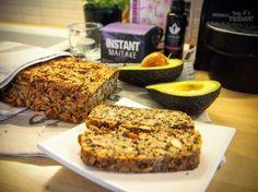 Kaikesta vapaa manteli-siemenleipä / Free-from-every  thing almond-seed bread