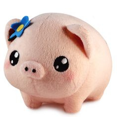 Gertrude the Plush pig. More