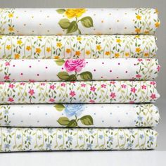 US $11.65 New in Crafts, Sewing & Fabric, Fabric Cotton Crafts, Fabric Crafts, Sewing Crafts, Card Making Inspiration, Wearable Art, Cotton Fabric, Floral Prints, Fabrics, Quilting Fabric