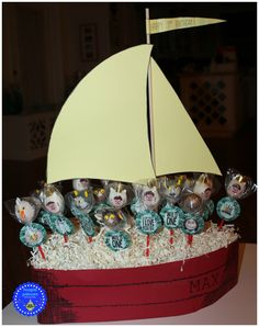 hoopla palooza: where the wild things are cake pops in a boat Boys First Birthday Party Ideas, Wild One Birthday Party, Baby Boy 1st Birthday, First Birthday Photos, 1st Boy Birthday, Birthday Party Themes, Birthday Cakes, First Birthdays, Boat Plans
