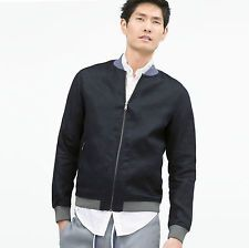 ZARA Man BNWT Dark Blue Linen Bomber Jacket Coat Cotton Lining S M L 5475/406  $50.43    End Date:  May-24 10:18   Buy It Now for only: US $50.43  Buy it now    |  http://bayfeeds.com/ebayitem.php?i=181943277695&u=3464&f=3228