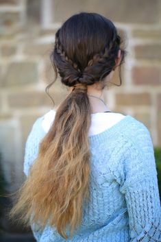 Braid Flip Combo | Cute Girls Hairstyles