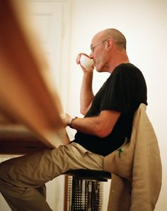 """Art is longing. You never arrive, but you keep going in the hope that you will."" - Anselm Kiefer (Portrait by Peter Rigaud) -- Exactly the way I feel. Anselm Kiefer, What Is An Artist, Artist At Work, Cy Twombly, Gerhard Richter, Willem De Kooning, Famous Artists, Great Artists, Louise Bourgeois"