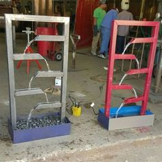 See 1 photo from 1 visitor to Galena Park High School Welding. Metal Projects, Welding Projects, Projects To Try, Welding Ideas, Blacksmith Projects, Welding Classes, Welding Jobs, Shielded Metal Arc Welding, Metal Welding