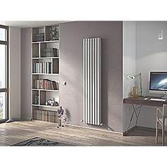 Moretti Ravello Vertical Double-Panel Designer Radiator White 1800 x 410mm  http://www.screwfix.com/p/moretti-ravello-vertical-double-panel-designer-radiator-white-1800-x-410mm/6114h