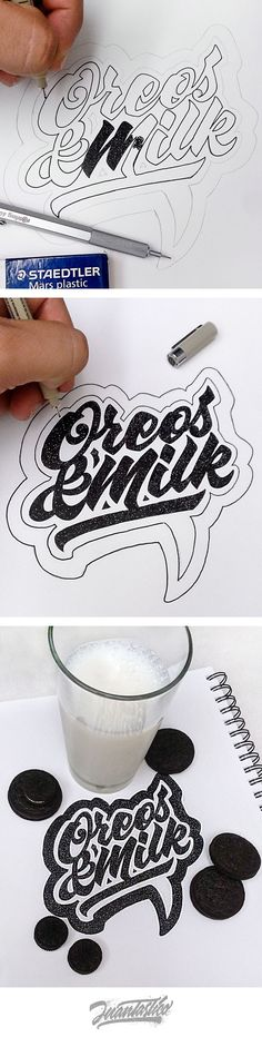 Typography Illustrations Vol.2 on Behance