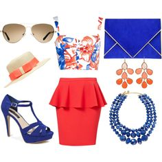 """""""Cruise Ship Resort"""" by kekek on Polyvore #outfit #look #style"""