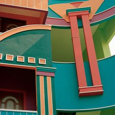 Indian Houses Inspired by Ettora Sottass | The Gorgeous Daily