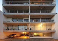Perforated shutters cover Sucre 4444 apartments by Esteban-Tannenbaum