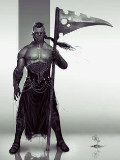 Men in fantasy art — tabletopresources:   Melvin Concept Art by...