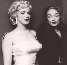 Marilyn and Marlene pouting