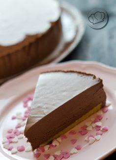 receta de tarta semifría de chocolate