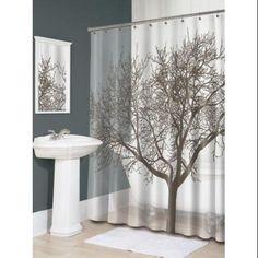 Splash Home Tree Mocha Eva Shower Curtain - Walmart.com