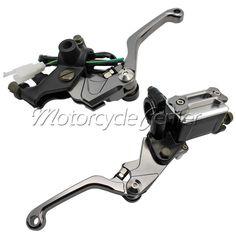 "7/8"" 22mm Motorcycle Brake Hydraulic Master Cylinder Kit Reservoir Levers For KTM 450 400 EXC SMR 530 EXC-R XCR-W XC-W SIX DAYS"