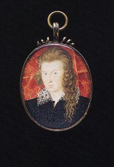 Nicholas Hilliard -The Earl of Southampton